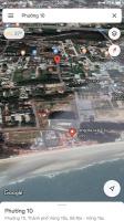 cần bán lô đất 500m2 góc 2 mặt tiền đường vào khu du lịch chí linh p10 tp vũng tàu