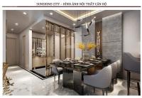 suất ngoại giao sunshine city ciputra từ 34trm2 full nội thất dát vàng nhận nhà ngay htls 70
