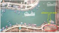 bán lô đất nền chính chủ không bắt xây mặt cảng mới tuần châu đã có sổ đỏ