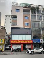 bán nhà 7 tầng lô góc diện tích 110m2 mặt tiền 9m mặt phố nguyễn văn huyên kd cực tốt