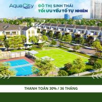 đô thị sinh thái thông minh aqua city nhà phố 6x20 14 tỷ ưu đãi đầu năm lên đến 10