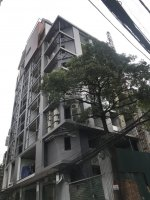 cho thuê tòa căn hộ 10 tầng tổng có 26 căn hộ 1 phòng ngủ khu trung tâm quận cầu giấy hn