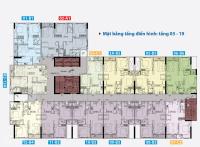 carillon 5 chính chủ căn 1pn 1wc 49 m2 2tỷ full nt giá 100 h đông bắc view nội khu