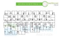 gia đình cần bán căn hộ cao cấp 3pn tầng đẹp chung cư sapphire palace cạnh royal city 0901751599