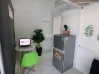 phòng tiện nghi có gác kệ bếp tủ quần áo ngay công viên phần mềm quang trung 25m2