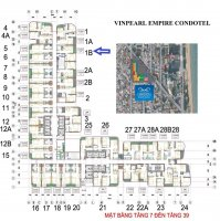 bán căn hộ khách sạn 1 phòng ngủ 43m2 view biển vinpearl condotel lê thánh tôn mời xem