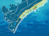 dự án aria vũng tàu nằm ở vị trí chắn gió và sở hữu bãi biển riêng 400 m khai thác quanh năm