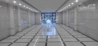 cho thuê văn phòng 120m2 thông sàn phố lê đức thọ có hầm để xe hoàn thiện full nội thất 17trth