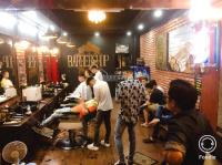 sang tiệm tóc nam barber siêu đông tặng trang fb 10k like lh 0987887845
