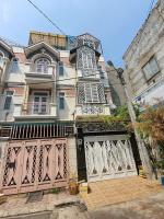 chính chủ bán căn nhà 1 trệt 2 lầu 1 sân thượng dtsd 220m2 sổ hồng ngay khu dân cư hồng long