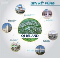 đại dự án qi island island riverside 40 trm2 sở hữu lâu dài vị trí vàng ngô chí quốc