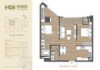 bán suất ngoại giao duy nhất căn hộ cao cấp cạnh vincom bà triệu hdi tower 762m2 2pn full nt