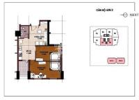 bán căn hộ ct5 văn khê dt 68m2 2pn nội thất cơ bản giá 1 tỷ 100tr bao tên