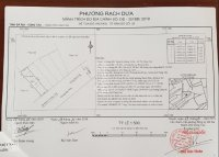 bán gấp 2 lô đất mặt tiền đường bến nôm phường rạch dừa vũng tàu