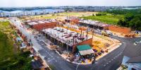 bán đất gần ngã tư bình chuẩn thổ cư 100 đường 30m chỉ 450 triệu nh h trợ 70