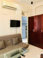cho thuê nhà chdv 10 phòng full nội thất 45x18m trệt lửng 4 lầu giá 45trth