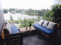 cho thuê căn hộ duplex m one quận 7 căn duplex có bancong rộng nhất trong 5 căn duplex tại dự án