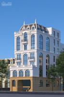 cho thuê toà nhà mới 6 tầng mp phố trung hoà dt 450m2 thang máy thông sàn giá thuê 340trth