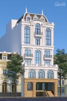 cho thuê building mặt phố trung hoà dt 430m2 7t nổi 1 hầm mt 18m giá thương lượng lh 0822288811