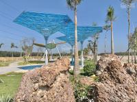 đất nền mặt tiền quốc lộ 13 cách ubnd huyện 300m trường cấp 1 2 3 500m sổ riêng thổ cư 100