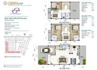sở hữu ngay nhà 3 tầng 90m2 chỉ từ 950tr tại kđt cao cấp centa city lh 0936981996