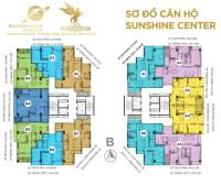 sở hữu ch full nt dát vàng sunshine center 16 phạm hùng chỉ 46tỷ3pn tặng 500tr ck 6 htls 0