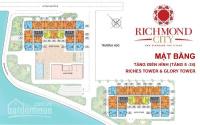 cho thuê shophouse richmond city đường nguyễn xí dt 70m2 160m2 giá chỉ 35trtháng