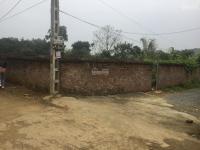 cần bán lô đất 1100m2 đã có tường bao xung quanh vị trí đắc địa tại vân hòa ba vì hà nội