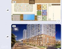 cho thuê căn hộ officetel sg mia 45m2 tầng 12 view landmark 81 8 triệuth gọi 0915201313
