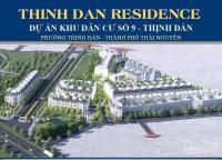 bán đất nền thịnh đán residence tp thái nguyên sổ đỏ lâu dài