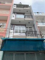 nhà 3 lầu hẻm thông 6m đường hương lộ 2 4mx16m