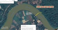 bán 2 lô đất xã nam cát tiên 6000m2 cln mặt tiền bờ sông 40m cách vqg cát tiên 1km