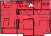 chính chủ cần tiền bán l căn hộ 152 điện biên phủ 72m2 tầng 17 đang hoàn thiện