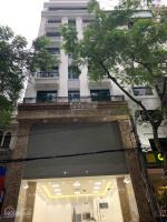 cho thuê nhà 50m2 x 5 tầng mặt tiền 5m tại phố dương khuê cạnh trường đại học thương mại