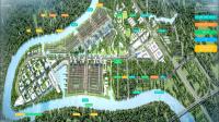 biệt thự đơn lập 15x15m khu đại đô thị 355ha bao bọc bởi dòng sông vàm cỏ đông trải dài 58km