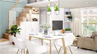 căn hộ chung cư gò dầu tân phú giá dưới 1 tỷ full nội thất thiết kế kiểu duplex h trợ vay 50
