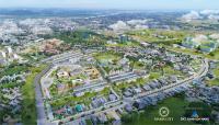 chỉ với 185 tỷ sở hữu ngay lô đất 100m2 2 mặt tiền công viên gần big c lh 0905985926