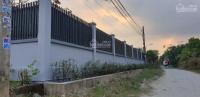 bán lô đất góc 2 mặt tiền thuận tiện xây biệt thự vườn giá 18trm2 liên hệ 0933995277