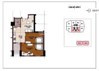 cần bán căn hộ 68m2 2pn cửa tây tại chung cư ct5 văn khê giá 105 tỷ