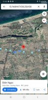 đất khu 1b đường 75m block b10 sát fpt giá 17 tỷ