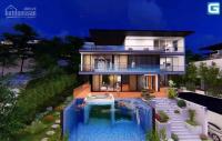 bán lại biệt thự đồi view vịnh đường cái dăm 555 m2 vào tiền 728 tỷ có bể bơi 4 tầng sn