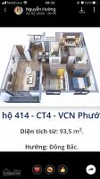 bán căn hộ ct4 vcn phước hải căn góc 935m2 mặt đường số 4