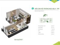 cần bán gấp căn hộ 1 phòng ngủ a2027 chung cư green bay garden hạ long 36m2 giá 830 triệu đồng