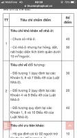 quy trình bốc thăm và bảng chấm điểm dự án nhs phương canh