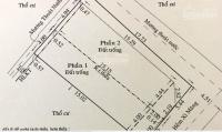 bán đất sát mặt tiền lê đức thọ phường 13 gò vấp hẻm xe hơi quay đầu giá 60trm2 thổ cư 100