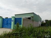 chính chủ cho thuê nhà xưởng mới xây tại xã tân phú trung củ chi cách đường nguyễn thị lắng 50m