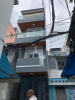 nhà mới xây cần tiền bán gấp nhà an dương vương dt 3x9m 3 lầu hẻm 6m 45 tỷ bán nhanh