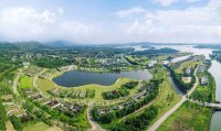 chính chủ bán đất 7636m2 thổ cư mặt hồ đại lải gần flamingo đại lải sổ đỏ đầy đủ giá rẻ 4trm2