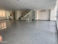 cho thuê nhà phố mặt tiền lý tự trọng q1 160m2 8m x 20m 1 tầng giá 250 triệu