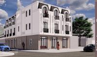 bán nhà la phù hoài đức xây mới 3 tầng thiết kế đẹp phong cách châu âu đường rộng ô tô đ cửa